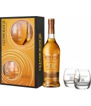 Віскі Glenmorangie 10р. 0,7л + 2 бокала
