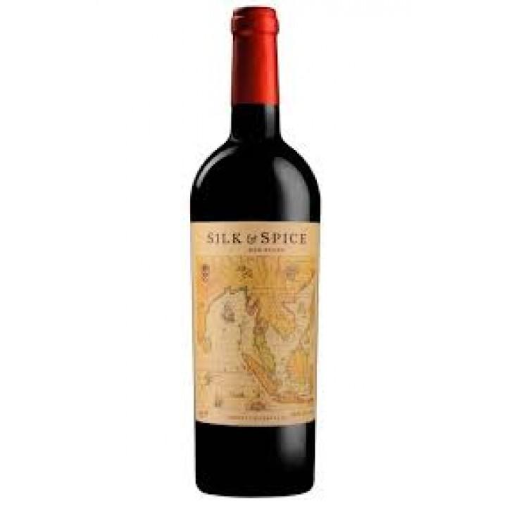 Вино Silk&Spice червоне н/сухе 0,75 л.