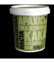 Арахісова паста з какао та кокосовою олією 500 г