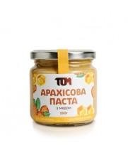 Арахісова паста з медом (скло) 180 г