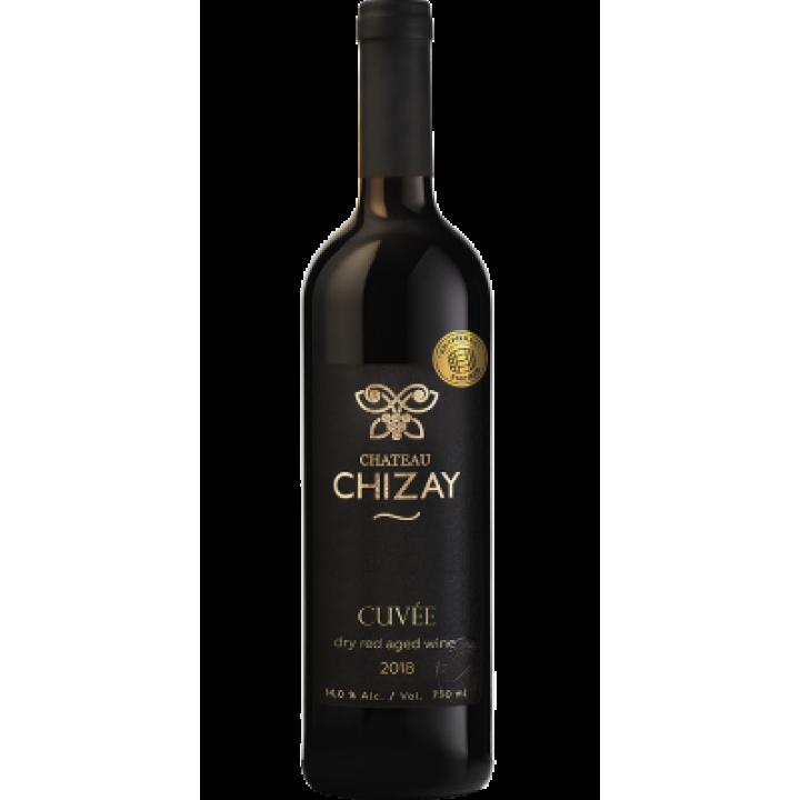 Вино Chateau Chizay Cuvee черв. сухе 0,75 л