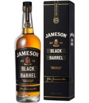 Віскі Jameson Black Barrel в сув. кор 0,7 л
