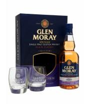 Віскі Glen Moray Port Finish + 2 бокала 0.7 л