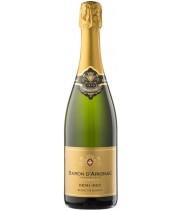 Sparkling wine Baron d'Arignac Blanc de Blancs white 0.75 l.