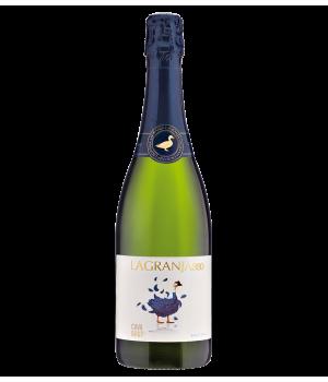 Sparkling wine Cava Lagranja, white brut, 0,75 l