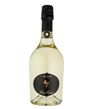 Sparkling wine I Blanc 47 Gran Cuvee Vino Spumante white brut, 0.75 l.