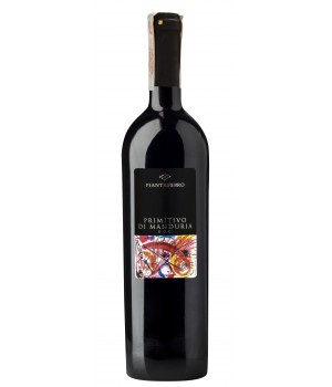 Wine Tombacco Primitivo di Manduria D.O.C. Piantaferro, 750ml