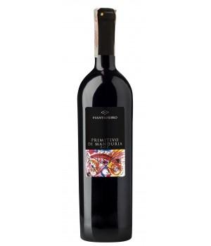 Wine Tombacco Primitivo di Manduria D.O.C. Piantaferro, 750ml