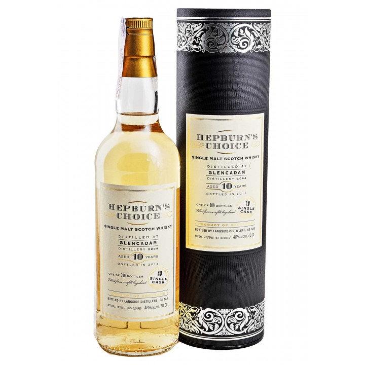 Whiskey Hunter Laing Hepburn`s Choice Glencadam 10 Y.O. 700ml