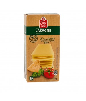 Lasagna Fine Life of durum wheat, 500g