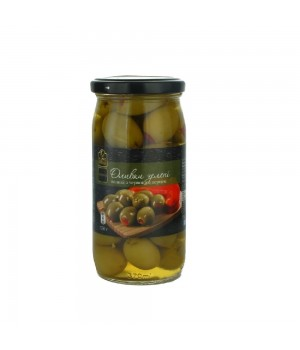 Olives Fine Food pitted green pepper 350 g