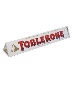 Chocolate Toblerone  White, 100g