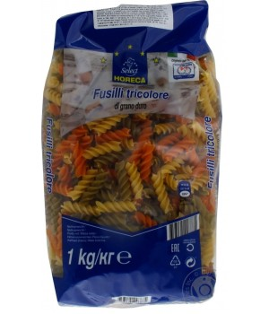 Pasta Horeca Select Fusilli three colors 1kg