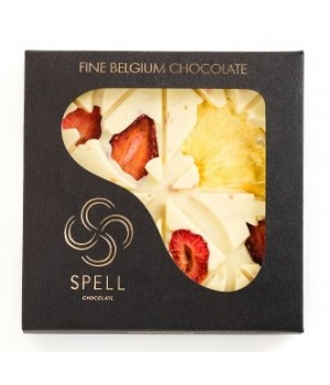 White chocolate with dried fruit Spell, 120g