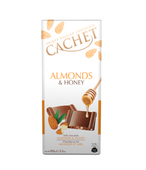 Cachet Almonds & Honey 100g