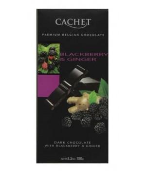 Chocolate Cachet Blackberry & Ginger 100g