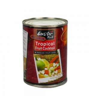 Tropical fruit cocktail in juice passion fruit Exotic Food 565 g