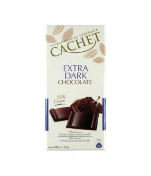 Шоколад Cachet Extra Dark 70% 100  г