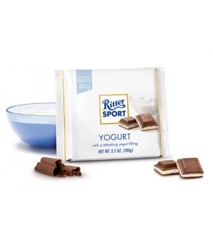Ш-д Ritter Sport молочний з йогуртом 100 г.
