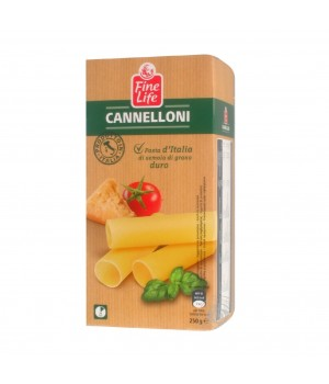 Pasta Fine life Cannellioni of durum wheat, 250g