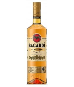 Rum Bacardi Carta Oro, 700 ml