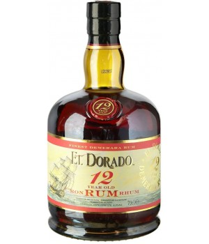 Rum El Dorado 12 Y.O., 700 ml