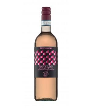 Wine Tombacco Bardolino Chiaretto D.O.C. Serenissima, 750ml