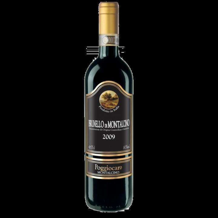 Вино Brunello Di Montalcino Poggiocaro DOCG чер.сухе 0,75 л