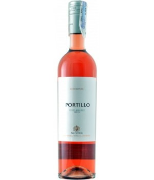 Wine Portillo Rose-Malbec, 750ml