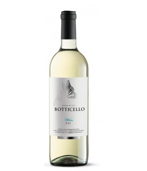 Вино Botticello White Dry біле сухе 0,75 л
