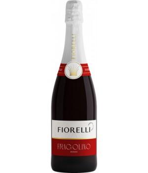 Вино ігр. Fiorelli Fragolino Rosso черв. сол 0.75 л