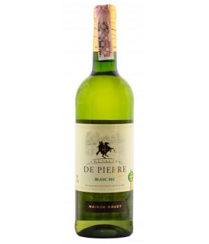 Wine Chevalier de Pierre Blanc Sec 750ml