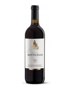 Вино Botticello Red Dry черв. сухе 0,75 л