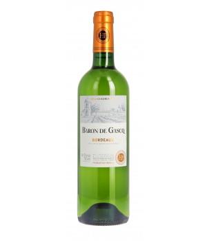 Wine Baron de Gascq white dry 0,75 l