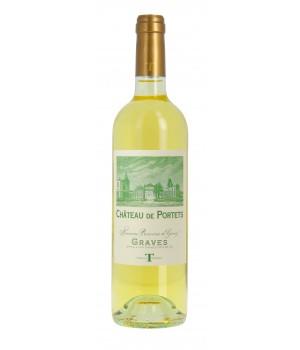 Wine Chateau de Portets white dry 0,75 l