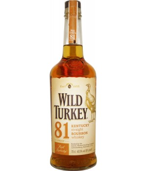 Bourbon Wild Turkey 81 proof, 700ml