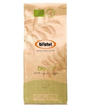 Coffee Bristot Biovita 100% organic coffee, 1 kg