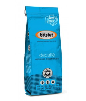 Coffee Bristot Linea Diamante Decaffeinato 250g