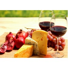 The impact of cheese to taste wine