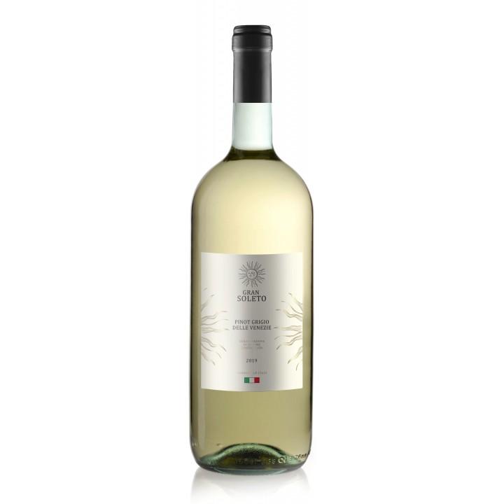 Вино Gran Soleto Pinot Grigio біле сухе 1.5 л