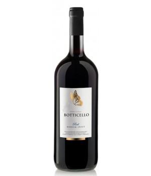 Вино Botticello Red Wine Medium Sweet червоне напівсолодке 1,5 л