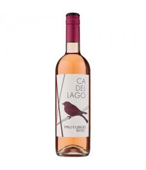 Вино CaDelLago Pinot Grigio Rose рож. сухе 0.75 л