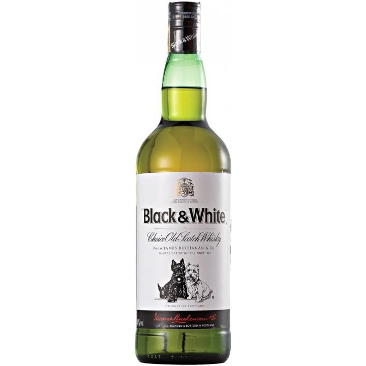 Віскі Black & White 0,7 л.