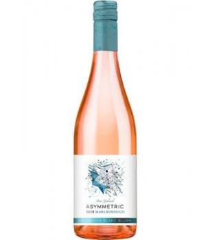 Вино Sauvignon Blanc ASSYMETRIC рожеве сухе 0.75 л