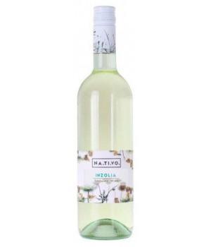 Вино Inzolia NA.TI.VO біле сухе 0,75 л