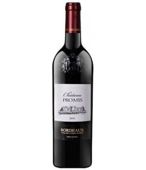 Вино Chateau Promis червоне сухе 0,75 л