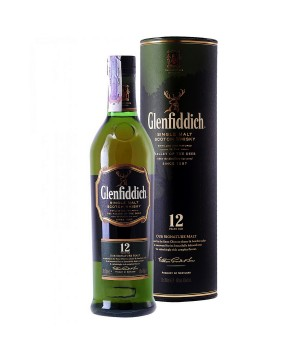 Віскі Glenfiddich 12yo, 0,7л