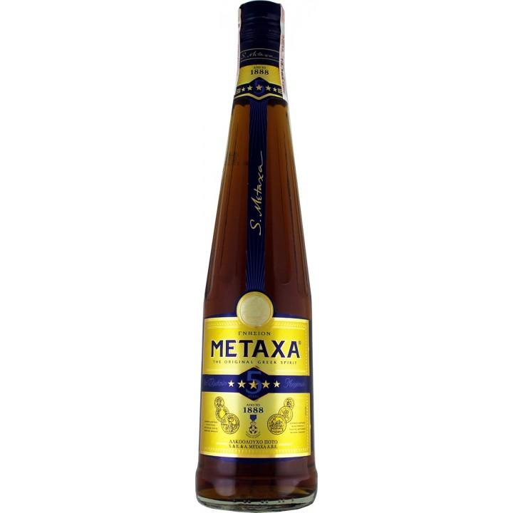 Бренді Metaxa 5* 0,7 л