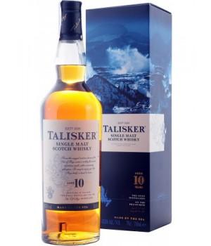 Віскі Talisker 10yo 0,7 л.