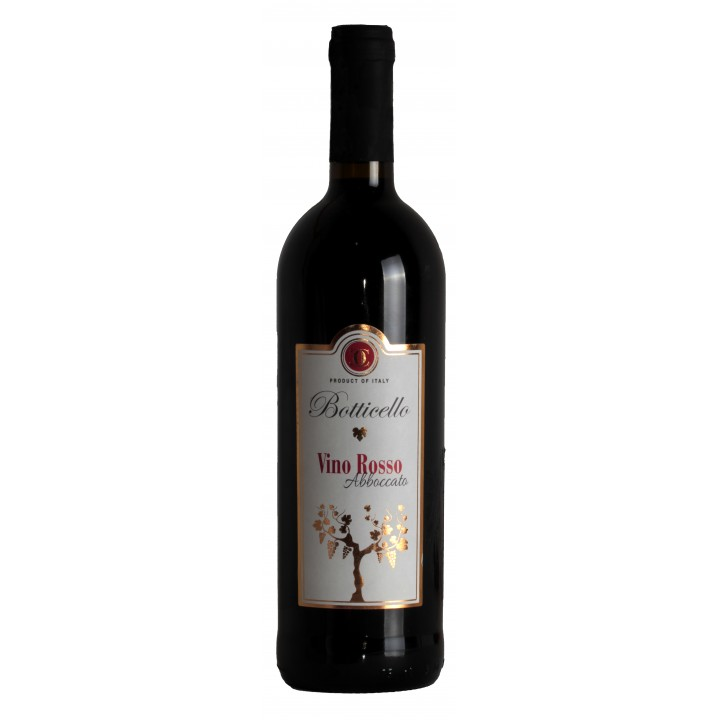 Вино Vino Rosso Abboccato черв. н/сухе 0,75 л.